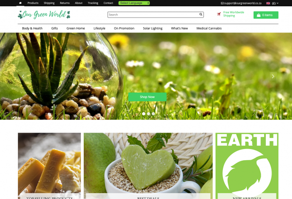 Our Green World | Environmental | 100+ Products - Ready Made